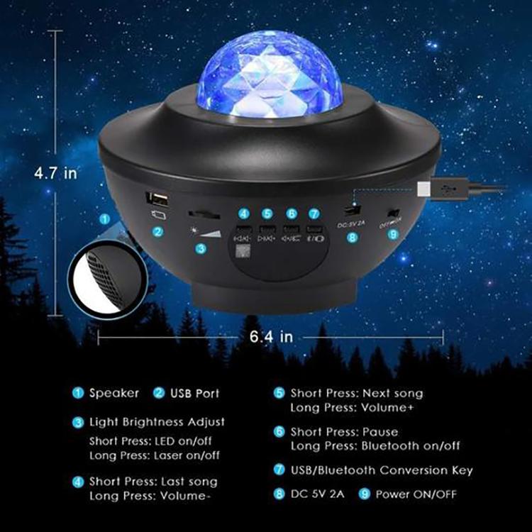DreamSky™ Stjärnprojektor